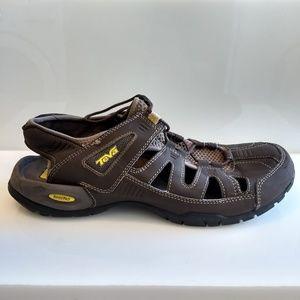 Teva Mens Abbett Fisherman Sport Hiking Sandals